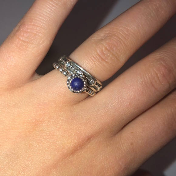 d7755ff46 Pandora Jewelry | Stackable Ring Set Size 6 | Poshmark